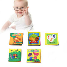 Baby Intelligence Development Cloth Book Toy Baby Cloth Book Educational Toy New