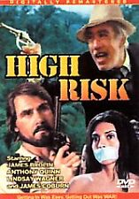 High Risk DVD 2006 James Brolin Anthony Quinn Lindsay Wagner James Coburn New