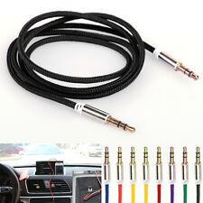 Rock 3.5mm AUX Auxiliary Cord Male to Male Stereo Audio Cable iPod CAR PC MP3 US