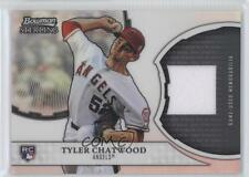 2011 Bowman Sterling Rookie Refractor Relics #RRR-TC Tyler Chatwood Card g4i