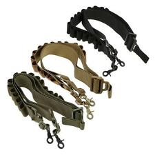 Tactical 2 Point Rifle Shotgun Sling 15 Shell Ammo Holder Bandolier 12/20Ga HOT