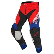 2017 Alpinestars Racer Supermatic YOUTH MX Motocross Pants - Red Blue White