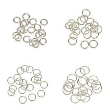 20 Sterling Silver Open Split JUMP RINGS Findings for Jewelry Making 3,4,5,6mm