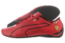 Puma Future Cat M1 Scuderia Ferrari 30553801 Rosso Corsa Black Leather Shoes Men