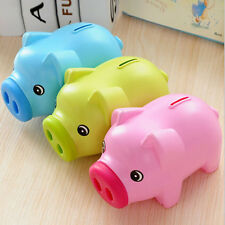 Cartoon Pig 19cm Money Piggy Bank Creative Cute Piggy Bank For Kid Saving CoinST