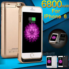 External Battery Backup Charger Rechargeable Case Cover Pack Bank for iPhone 6S
