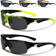 X-LOOP SUNGLASSES NEW MENS LADIES BLACK POLARIZED DRIVING FISHING LENS BIG WRAP