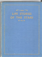 "1940s--""LIFE STORIES OF THE STARS""--BRITISH HARDCOVER BOOK--XLNT"