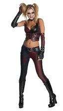 Harley Quinn deluxe adult ladies costume Arkham City