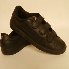 Boys Nike Black Trainers Main Draw Velcro School Shoes Size 5 Seconds £21.99