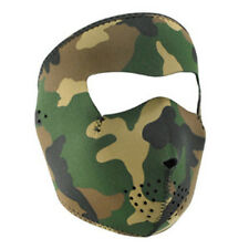 Balboa WNFMT118  Full Mask, Neoprene, Tactical,4.0mm Thick, Woodland Camo