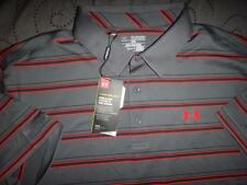 UNDER ARMOUR GOLF COLD BLACK HEATGEAR POLO SHIRT 2XL XL NWT $69.99