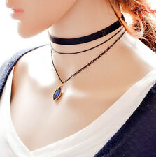 Fashion Women Hot Layer 3 Gothic Style Choker New Chain Necklace Vintage Style