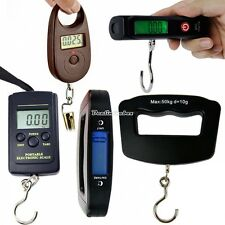 Portable LCD Electronic Pocket Digital Hook Hanging Luggage Scale Fishing D0X8