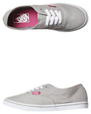 New Vans Women's Womens Authentic Lo Pro Womens Shoe Canvas Womens Shoes Silver