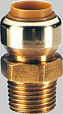 Tectite Push fit fitting for Copper pipes Transition nipples AG many sizes