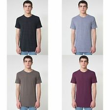 American Apparel Unisex Tri-blend Short Sleeve Track T-Shirt