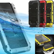 IP68 Waterproof Shock Proof Tempered Glass Case Cover Skins For iPhone 6 6S Plus
