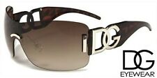 New Exclusive WRAP Style Young Lady's Girls Designer Celebrity Sunglasses BROWN