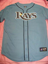 Majestic Youth Tampa Bay Rays #3 Evan Longoria Jersey NWT
