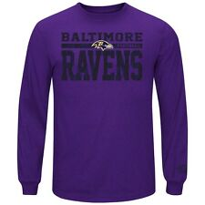 Men's Victory Pride Long Sleeve Baltimore Ravens T-Shirt