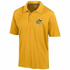 West Virginia Mountaineers 125 Years of Mountaineer Football Gold Polo FREE SHIP