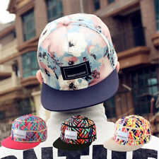 New Men Fashion Snapback Adjustable Baseball Cap Hip-Hop Hat Cool Floral Print M