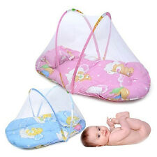Foldable Portable Infant Baby Mosquito Net Crib Bed Tent with Pillow Exquisite
