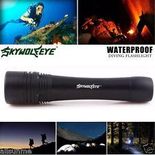 Powerful 60M Waterproof 6000 Lm CREE LED Underwater Diving Flashlight Torch Lamp