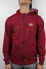Adidas Mens Winter Hoodie Cardinal Light Grey Heather W63341 NWT