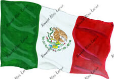 Flag of Mexico Mexican Vinyl Decal Sticker Auto Truck Boat RV Window Body Glass