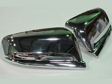 Custom Fit Mirror Covers - Chrome Plated ABS Plastic QAA Side Mirror Trim