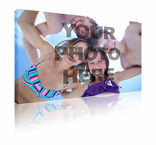 "Your photo on a 16"" x 24"" personalised canvas wall art print picture free p&p"