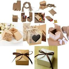 50pcs Bulk Square Sweets Candy Chocolate Gift Boxes Wedding Party Favor 7 Style