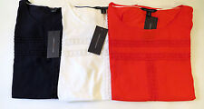 ladies Tommy Hilfiger Shell t/Shirt/Blouse,.Office-Casual navy/red/white