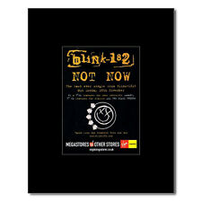 BLINK 182 - Not Now Matted Mini Poster - 10x13.5cm