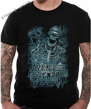 Avenged Sevenfold Chained Skeleton T Shirt OFFICIAL S M L XL XXL NEW