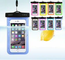 Waterproof Underwater Cell Phone Pouch Dry Bag Case Cover For iPhone Samsung New