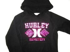 *NEW**HURLEY** black hooded jumper ~ladies S, M, L, XL