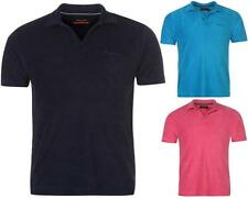 Pierre Cardin Terry Polo Shirt Mens Towelling Fabric Short Sleeve Size S-XXL