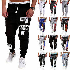 New Mens Casual Sport Dance Jogging Baggy Harem Pants Sweatpants Trousers Slacks