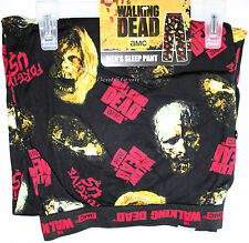 "AMC TV The Walking Dead Zombie ""FORGIVE US"" Sleep Lounge Pants Pajamas MEN 2XL"