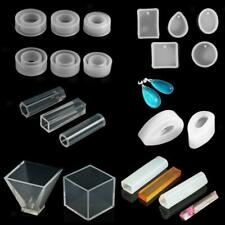 Silicone Pendant Molds Making Jewelry Pendant Resin Casting Mould Craft Tool