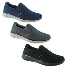 MENS SKECHERS EQUALIZER DOUBLE PLAY TRAINERS NAVY, BLACK & CHARCOAL 51509