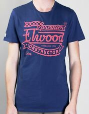 **NEW**ELWOOD**blue tshirt - sz S, M, L, XL mens RRP$59.95