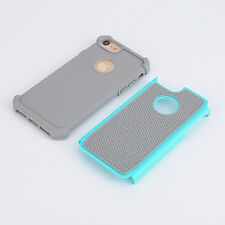 Shockproof Hybrid Rugged Rubber Hard Case Cover Skin for Apple iPhone 7/7 Plus