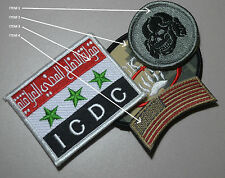 PRIVATE MILITARY CONTRACTOR PMC DIPLOMATIC SECURITY νeΙcrο SSI: 2-PATCH item 3&2