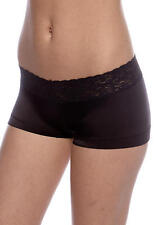 NEW NWT Maidenform Dream Lace Cheeky Boyshorts 40813 Black or Steel Gray M or L