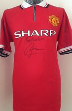 Manchester United 1999 Treble Shirt Signed By Roy Keane With Guarantee
