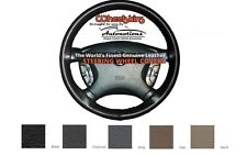 Custom Fit Leather Steering Wheel Cover Wheelskins Smooth Perforated Size BX